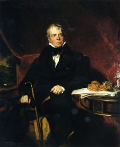 Sir Walter Scott by Lawrence - Sir Walter grew up on a farm next to Smailholm Tower where the Border Reiver Pringle family once held sway. He was fascinated by the stories and legends of the Borderlands he loved so much.  His fellow Border Reiver descendants are grateful that he wrote them down.