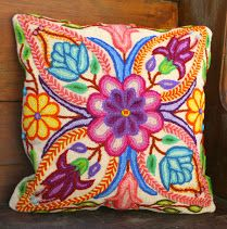 Pillow cover. www.threadsofhopetextiles.org