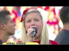 "Harper Gruzins explains ""Worst National Anthem Ever"" on Good Morning America"