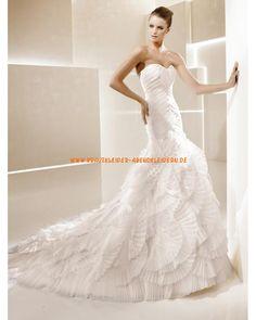 Sexy designe Brautkleider aus Organza im Meerjungfrauenstil online 2013