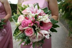 Lovely Summer Pink Wedding at Copp Church
