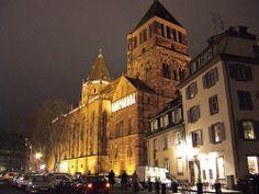 L'Eglise Saint-Thomas - #Strasbourg - #Alsace