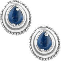 Carolyn Pollack 925 Sterling Blue Kyanite Clip Button Stud Earrings$69.99More details