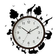 時計デコレーションウォールステッカー - 【 ウォールステッカー専門店 】 ハングリーステッカー -hungry sticker-