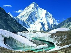 The second highest mountain in the world, K-2   #pakistan