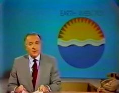 Walter Cronkite; The First 'Earth Day' - April, 1970