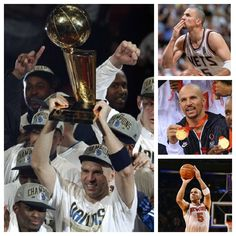Jason Kidd - 10x NBA All-star, 5x NBA First Team, 1x NBA Second Team, 4x NBA All-Defensive First Team, 5x NBA All-Defensive Second Team, 5x NBA Assist Leader, NBA All-Rookie First Team, 1995 NBA Co-Rookie of the Year, Two-time Olympic Gold Medalist, 105 Career Triple-doubles, 3rd All-time in 3-pointers Made, 3rd All-time in Minutes Played, 2nd All-time in Steals, 2nd All-time in Assists, and most importantly, 2011 NBA Champion!