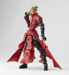 trigun action figure | Revoltech: Trigun - Vash The Stampede Action Figure (Yamaguichi)
