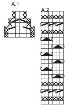 Strikkede DROPS hyggesokker i Karisma med hulmønster. Str 35 - 43 Gratis opskrifter fra DROPS Design.