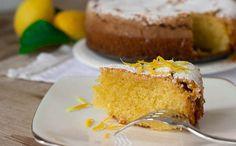 Caprese Al Limone cake A real taste of the Italian tradition