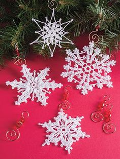 Crochet Snowflake patterns
