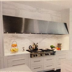Love the extra long stainless hood.