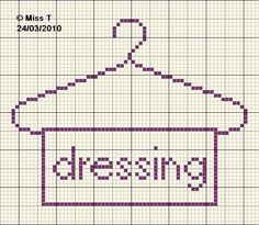 lessive - wahing - dressing - point de croix-cross stitch - broderie-embroidery- Blog : http://broderiemimie44.canalblog.com/