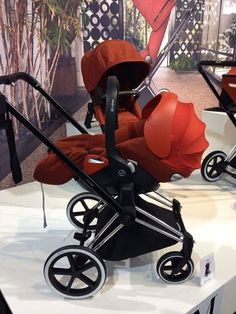 A new year for CYBEX, and a new reason to celebrate – the Cybex Priam Stroller is a luxury stroller that's affordable to everyone! The Cybex Priam will hold all Cybex car seats, including the new reclinable Cybex Cloud Q, and boasts great suspension, crazy easy maneuverability, and huge underseat basket! http://site.pishposhbaby.com/blog/2014/09/07/cybex-priam-stroller-new/