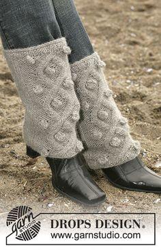 "Free Pattern--DROPS Legwarmers with cables in ""Alpaca"" Knit Leg Warmers, Hand Warmers, Pols Warmers, Drops Design, Drops Alpaca, Knitting Patterns, Crochet Patterns, Magazine Drops, Boot Cuffs"