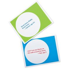 Kid-Quote Cards