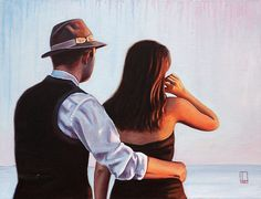 Our Favourite View Richard Blunt Blunt Art, Jack Vettriano, Romantic Photos, Couple Art, Playing Guitar, Love Art, Art Gallery, Portrait, Couples
