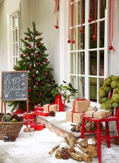 Galleria foto - Come addobbare la porta d'ingresso per Natale Foto 2