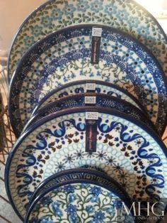 Frans brocante afdruiprekje met prachtig Bunzlau Castle servies ... verkrijgbaar…