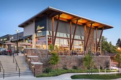 LRS Architects :: Timberland Retail Center