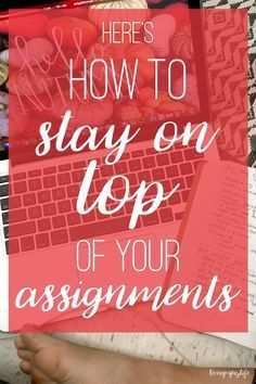 How to Stay on Top of Your Assignments College. It seems like one minute I have my life together, all my assignments…College. It seems like one minute I have my life together, all my assignments… College Outfits, College Hacks, College Life, College Success, College Study Tips, College Semester, College Essentials, College Necessities, Espn College