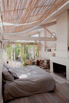 outdoor bedroom? sounds good to me!