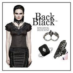 """""""Back to Black"""" by ena07-dlxx ❤ liked on Polyvore featuring KD2024 and Repossi"""