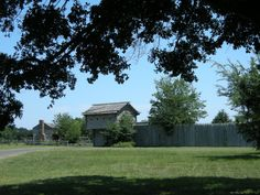 Old Fort Parker - Early Texas Historic Fort.  Site of Indian attack and abduction of Cynthia Ann Parker, who became the mother of Quannah Parker, Comanche Chief.
