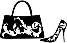 Silhouette Design Store: filagree purse & heels