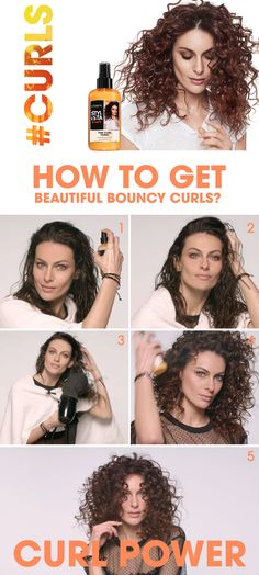 How to get beautiful bouncy curls? Get your Stylista, it's #Curls pride now!