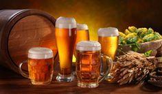 Sauerkraut, Schnitzel, Bratwurst, Strudel, and lots more! Learn about German food specialties. Find German food in your area. Sauerkraut, Strudel, Marzipan, Beer Brats, Wiener Schnitzel, Oktoberfest Party, Beer Cheese, German Beer, Beer Mugs