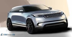 .@LandRover has unveiled the Range Rover Velar. Design analysis on http://formtrends.com/range-rover-velar
