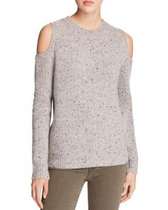 Rebecca Minkoff Page Cold Shoulder Sweater | Bloomingdale's