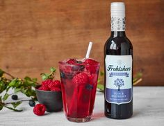 Sloe & Raspberry - Packed with tart sloes and sweet raspberries and features a hint of vanilla. Try served hot as a nice winter warmer. Juice Drinks, Fruit Juice, Alcoholic Drinks, Personal Hygiene, Juice Flavors, Variety Of Fruits, Pure Products, Raspberries, Red Wine