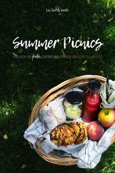 Summer picnics - recetas refrescantes y fáciles para comer sano este verano Summer Picnic, Picnics, Lunch Box, Tasty, Corporate Photography, Eat Healthy, Summer Time, Recipes, Fotografia