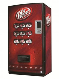 Need this for my man room Soda Machines, Vending Machines, Dr Pepper Cupcakes, Adult Lunch Box, Food Facts, Cool Items, Pepsi, Coca Cola, Beverages