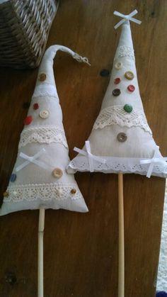 Vánoční vintage stromečky