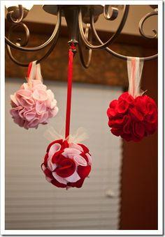 Valentine's Day Kissing Balls