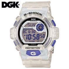 Casio G-Shock Limited Edition Dirty Ghetto Kids G8900DGK-7 Casio. $189.00. Auto LED Backlight (Super Illuminator) with Afterglow. Full Auto Calendar (Pre-programmed until the year 2099). Shock Resistant. 200M Water Resistant. Multi-time (4 different cities)
