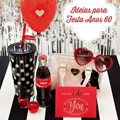 festa anos 60, festa vintage, coca-cola, coke party, 60's party