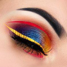 Kaleidoscope Makeup Tutorial - Makeup Geek