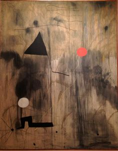 Joan Miro, The Birth of The World 1925, oil on canvas, MOMA