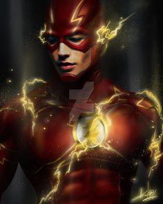 """""""#flash #theflash #scarlettspeedster #fastestmanalive #barryallen #wallywest…"""