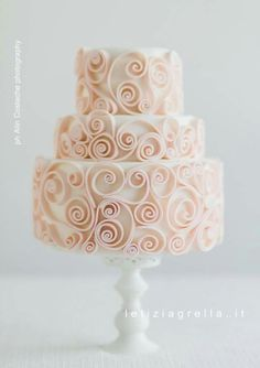 Quilled Cake - For all your cake decorating supplies, please visit craftcompany.co.uk
