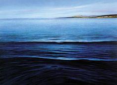 """Κωνσταντίνος Παπαγεωργίου: """" Όταν πιάνω τα πινέλα μου σφραγίζομαι στον μικρόκοσμό μου..."""" Waves, Sea, Outdoor, Outdoors, The Ocean, Ocean Waves, Ocean, Outdoor Games, The Great Outdoors"""