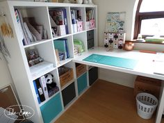 Exciting news guys!   You might have seen bits of this already if you follow me on Instagrambut if you don't, I have a new craft room!   Well, new furniture in the same room. Reme…