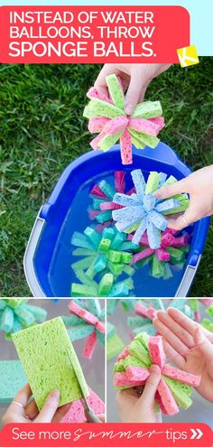 10 Summer Backyard Entertaining Hacks That Actually Work 10 Sommer Hinterhof unterhaltsame Hacks, die tatsächlich funktionieren - The Krazy Coupon Lady Kids Crafts, Projects For Kids, Diy For Kids, Diy Projects, Easy Crafts, Summer Crafts Kids, Spring Crafts, Hacks For Kids, Fun Things For Kids