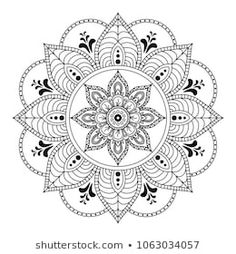 Find mandala stock images in HD and millions of other royalty-free stock photos, illustrations and vectors in the Shutterstock collection. Mandala Drawing, Mandala Painting, Mandala Art, Flower Henna, Flower Mandala, Tangled Flower, Hanuman Wallpaper, Circular Pattern, Mandala Coloring Pages