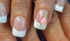 double petal daisy by aliciarock - Nail Art Gallery nailartgallery.nailsmag.com by Nails Magazine www.nailsmag.com #nailart