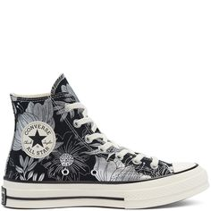 CHUCK 70 HI TEAM RED/AZURE HAZE/EGRET High Top Chucks, High Top Sneakers, Black High Tops, Adidas, Converse Sneakers, Catwalks, Vintage Floral, Converse Chuck Taylor, All Star